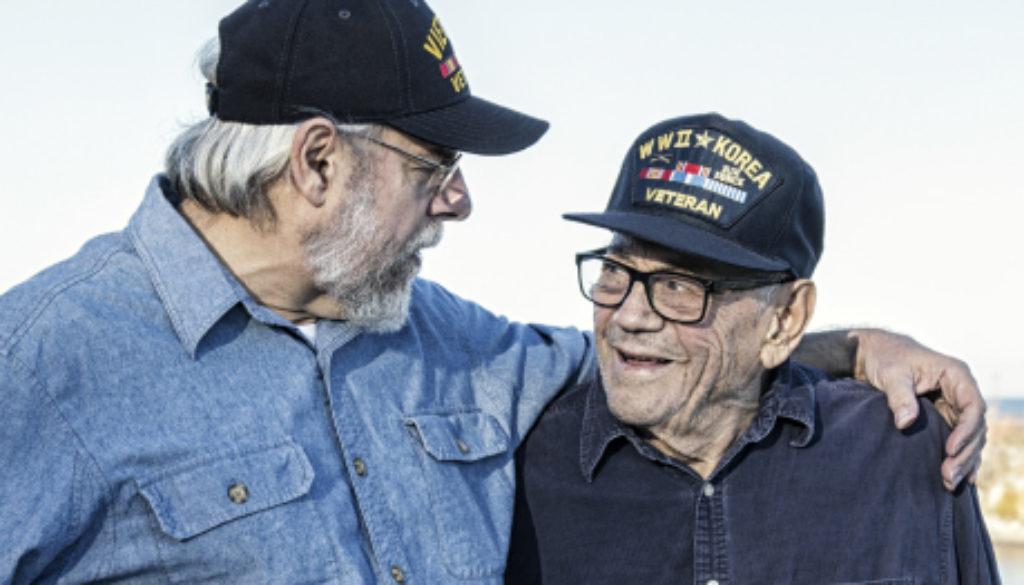 Veteran friends