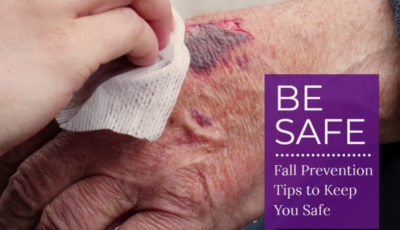 There are many factors that contribute to falls in older adults including medications, balance issues, vision problems, and unsafe environments. Addressing these issues can help keep you safe from fall-related injuries. Get our free Fall Prevention Tip Sheet!
