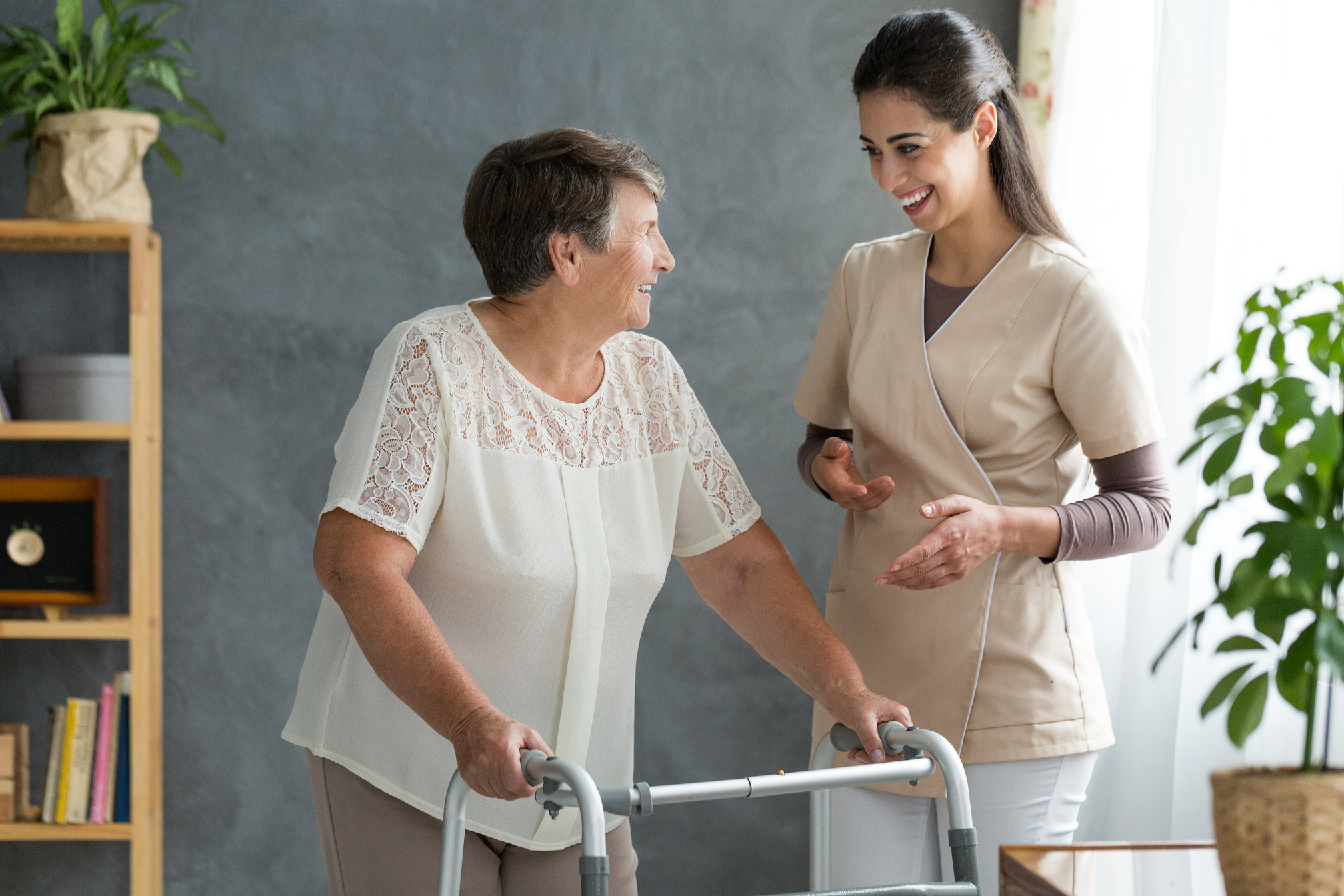 Find out what you can expect when receiving hospice care at home. Learn about the care team, what it provides, and how it works with the patient and their loved ones to ensure the best possible expereince - it's care your way!